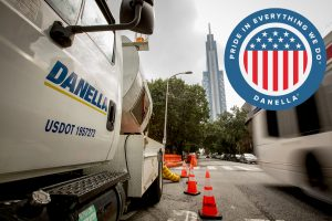 ENR News Ranking - Pictured Danella vehicle in Philadelphia