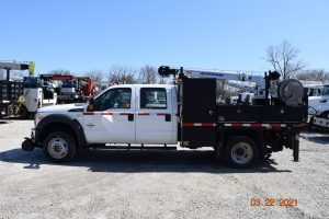 2016 Hi Rail Crew Cab Flat Bed Section Truck 3