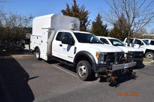 2017 Ford Hi Rail Hi Top Utility Welding Truck 3