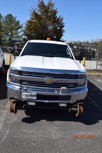 Hi Rail Crew Cab Short Bed Truck 2