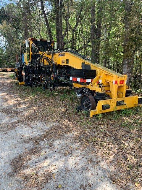 Tripp Machine Railroad Track Equipment Tie Exchanger